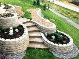 concrete block landscape landscape concrete block retaining wall concrete block landscape ideas