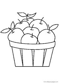 Manzanas Para Colorear Dibujos De Manzanas 004 Dibujos Y Juegos Para Pintar Y