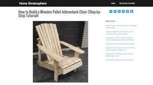 pallet adirondack chair plans. Home Stratosphere Plan For Adirondack Pallet Chair Plans F