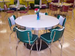 Retro Kitchen Tables For Red Retro Kitchen Table And Chairs Pickboncom