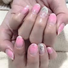 ピンクグラデーションネイル Total Beauty Salon Byu