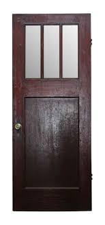 Classic Arts U0026 Crafts Wooden Entry Door