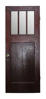 classic arts crafts wooden entry door