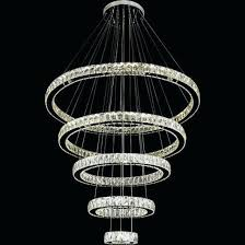crystal hanging chandelier ring crystal pendant light modern led crystal chandelier lighting round hanging crystal chandelier