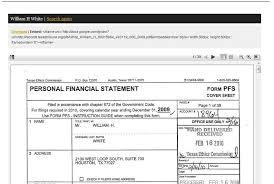 Read 3 000 Officials Personal Financial Docs The Texas