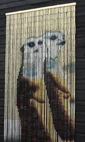 best beaded curtain ever meerkats hehehehehehe bead curtains for doorsbamboo