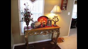 Decorating For Entrance Ways Foyer Table Decorating Ideas Youtube