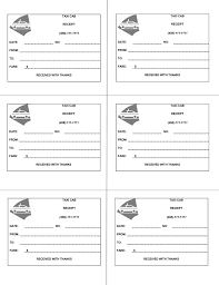 Bill Template 16 Free Taxi Receipt Templates Make Your Taxi Receipts Easily