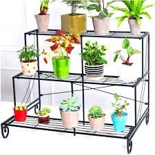 3 tier corner shelves metal plant stands shelf flower pot stand outdoor yard display shoes rack 3 tier corner shelves