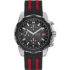 Guess Men`s <b>Sports</b> Watch With <b>Silicone Strap</b> , Chronograph ...