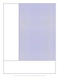 Cornell Notes Graph Paper