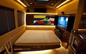 Salman Vanity Van Interior Bed