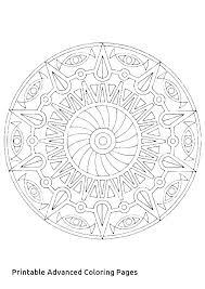 Free Mandala Coloring Pages Online Unique For Adults Coloring