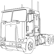 1929 truck trailer 3d models. Truck And Trailer Coloring Pages Printable Page 1 Line 17qq Com