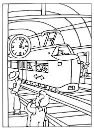 Kleurplaat Thema Trein Kleuters Preschool Theme Trains Train