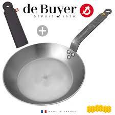 Edelstahl Silber 26 Cm De Buyer Crepe Pfanne
