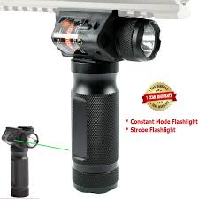 Vertical Foregrip With Light Vertical Foregrip With Combo Light Strobe Laser Red Or Green