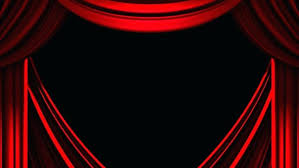 black theater curtains red stage curtain on black background render animation stock footage black stage black theater curtains