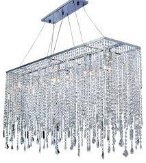 naples 48 chrome crystal chandelier