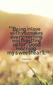 Sweet Morning Quotes For Her
