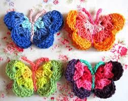3d Butterfly Crochet Pattern
