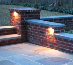 recessed wall brick lights outdoor indoor ip54. full image for recessed outdoor wall lights patio uk simple 23 garden brick indoor ip54 s