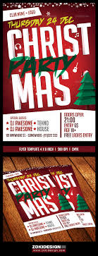 christmas party flyer template zokidesign flyers christmas party flyer template