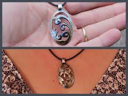 Wood Carving Dremel Diy Pendant Carving Necklace From Teaspoon With Dremel Rotary