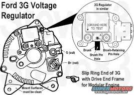 96 ford alternator wiring diagram schematics and wiring diagrams charging gt i rebuilt the alternator new brushes one