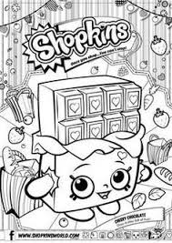 Printable Shopkins Coloring Pages Strawberry Colouring
