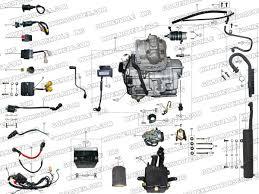 roketa atv 10 engine wiring and exhaust parts