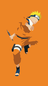 Naruto Uzumaki Minimalist Anime ...