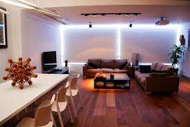 led lighting living room. Living Room With Indirect Recessed LED Light. Modern-living-room Led Lighting S
