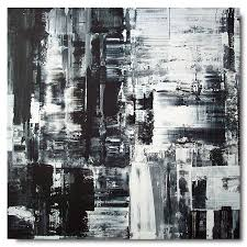 abstract art black and white painting hd background 8 hd