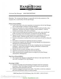 Simple Restaurant Assistant Manager Job Description For Resume