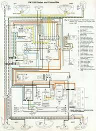 wiring diagram vw beetle sedan and convertible vw 66 and 67 vw beetle wiring diagram