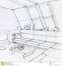attic clipart black and white. Plain Black Attic Living Room Intended Clipart Black And White D