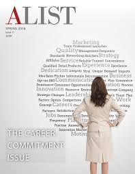 Alist Magazine Spring 2016 Issue Alist