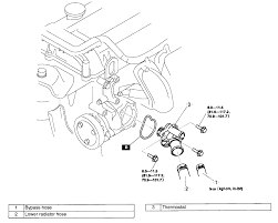 4 6l 2v mustang engine diagram as well 2001 f150 4 2 coolant temp sensor location