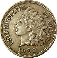 1899 Indian Head Penny Value Cointrackers