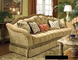 Traditional Sofas Living Room Furniture Wood Trimmed Sofa Hotornotlive