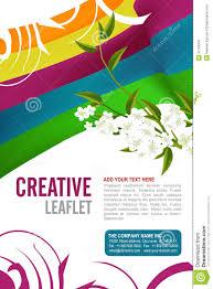 Leaflet Design Stock Vector Illustration Of Banner Flayer 31729347
