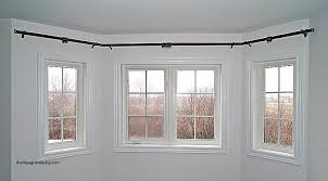 how to install bay window curtain rods elegant interior bay window double curtain rod copper bathroom