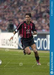 Rui Costa In Action During The Match Editorial Photo - Image of rossoneri,  siro: 189461971