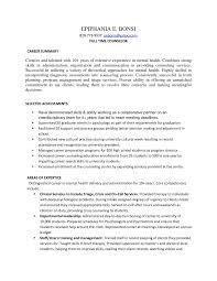 Mft Resume Sample Resume For Study