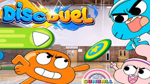 the amazing world of gumball disc duel a super sized air hockey game cartoon network games