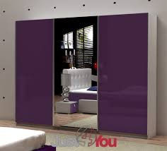 Of Cabinets For Bedroom Wardrobe Fox With High Gloss Front And With Mirror Furniture