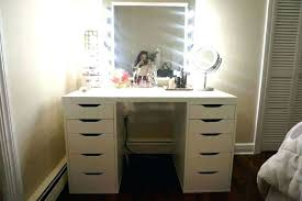 cool diy furniture set. Vanity Table With Light Up Mirror Awesome Excellent Lights Around Glancing Dressing For 1 Cool Diy Furniture Set