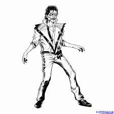 Michael Jackson Smooth Criminal Coloring Pages Michael Jackson