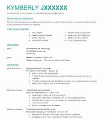 Behavioral Technician Resume